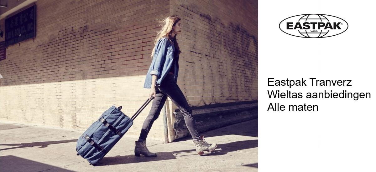 Eastpak reistassen in de aanbieding